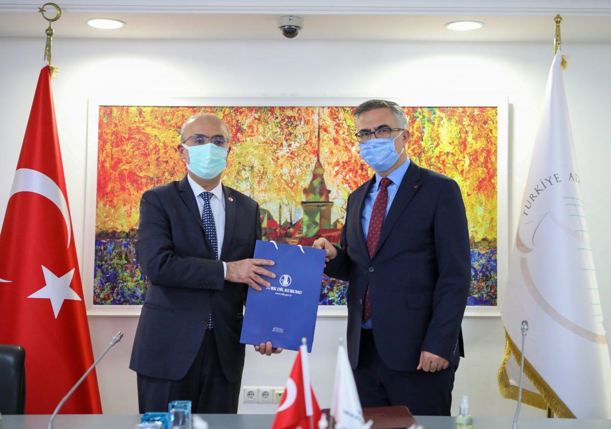 turk dil kurumu ile turkiye adalet akademisi arasinda is birligi protokolu imzalandi turk dil kurumu